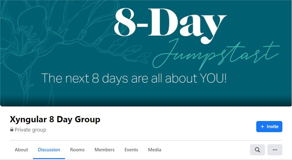 8-Day Jumpstart Facebook Group