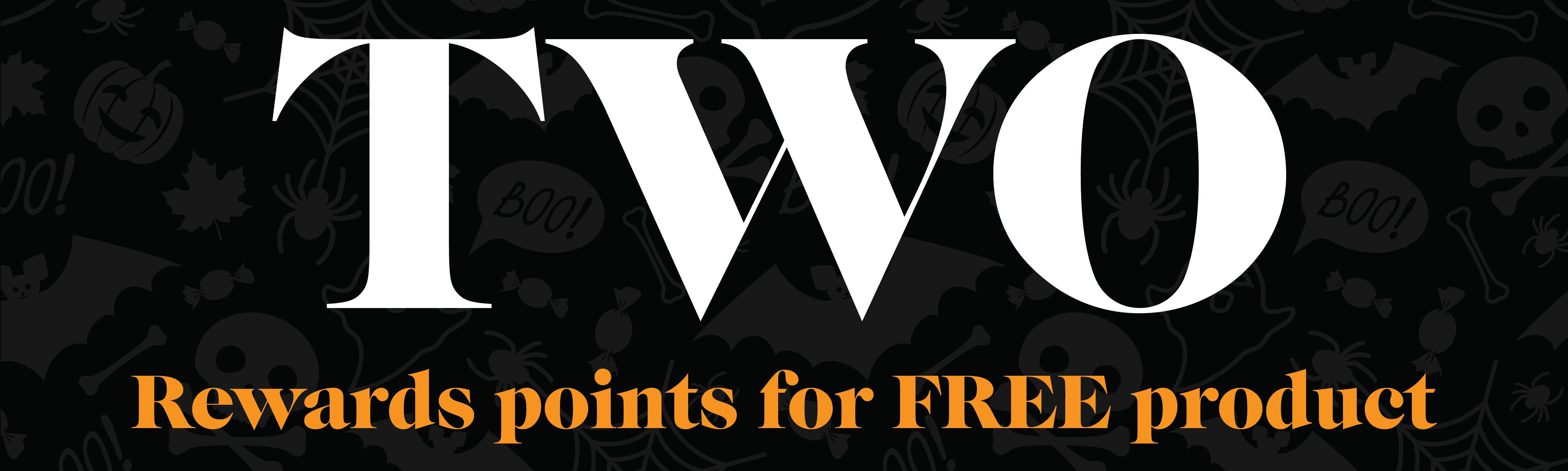 Rewards Points for Free Product